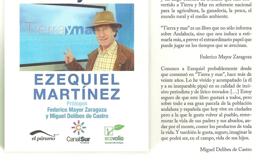 """PRESENTACIÓN LIBRO """"TIERRA Y MAR"""" EZEQUIEL MARTINEZ 1"""