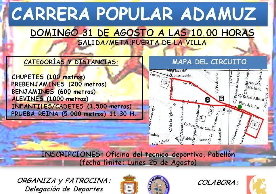 CARRERA POPULAR ADAMUZ 1