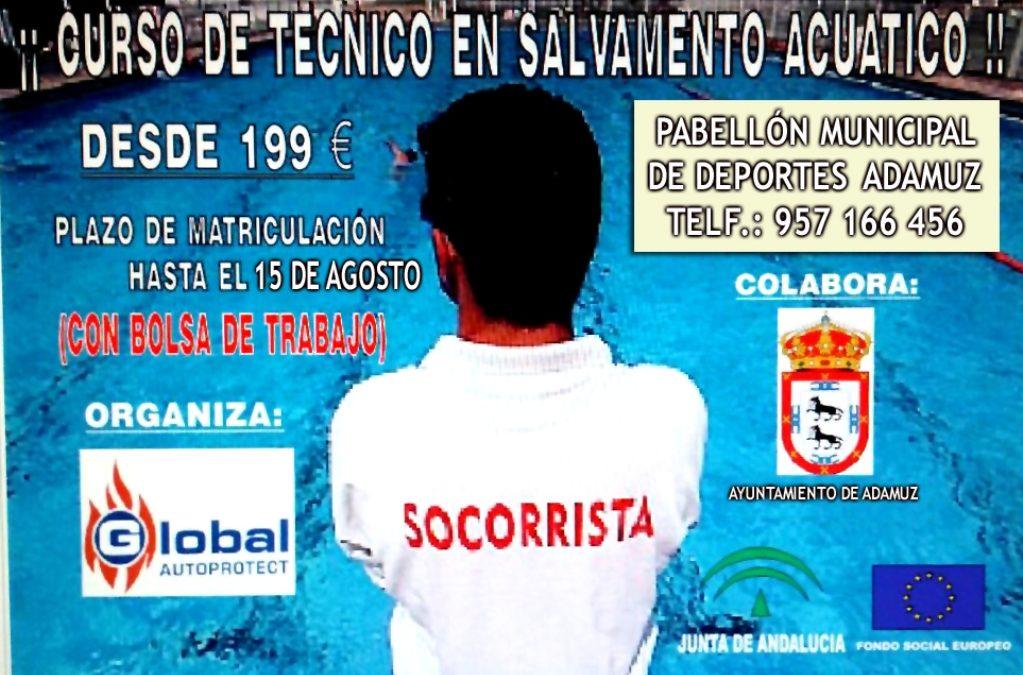 CURSO DE TECNICO EN SALVAMENTO ACUATICO 1