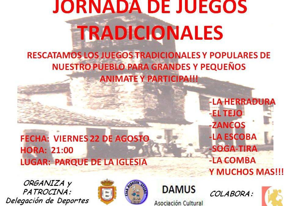 JORNADA DE JUEGOS TRADICIONALES Y POPULARES EN ADAMUZ 1