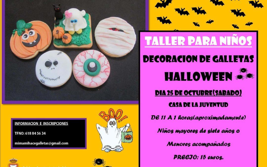 TALLER DE DECORACIÓN DE GALLETAS TEMÁTICA HALLOWEEN  1