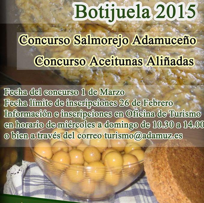 Concursos gastronómicos Botijuela de Adamuz 2015 1