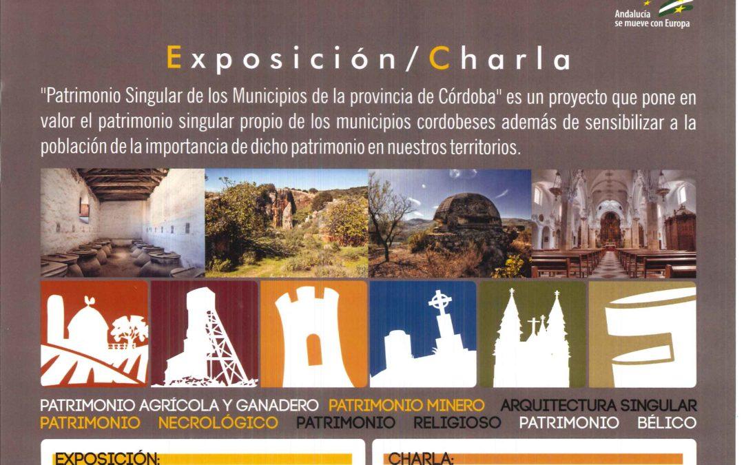 Exposición Patrimonio Singular 1