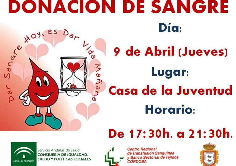 DONACION DE SANGRE EN ADAMUZ 1