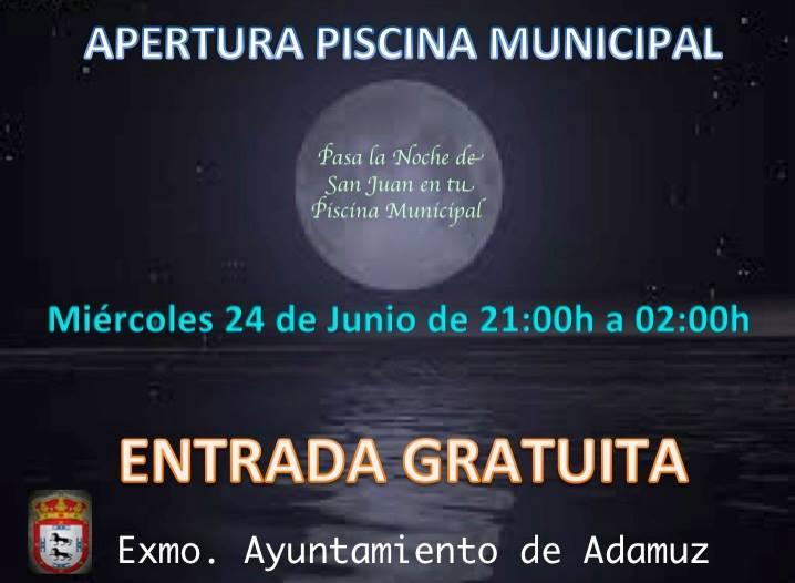 APERTURA PISCINA MUNICIPAL 1