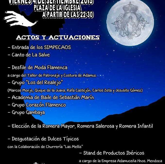 XIII Edición de la Noche Romera 1