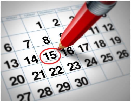 Calendario de festivos 2016 1