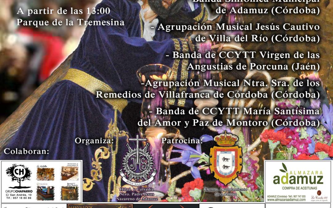 IX CERTAMEN DE MARCHAS PROCESIONALES VILLA DE ADAMUZ