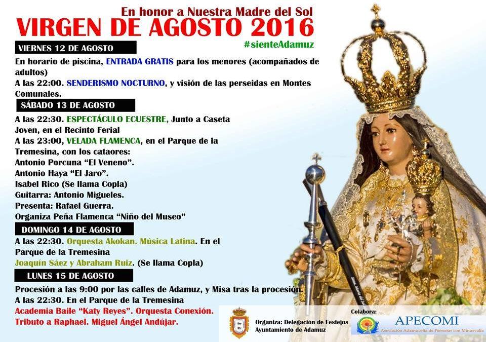 VIRGEN DE AGOSTO 2016 1