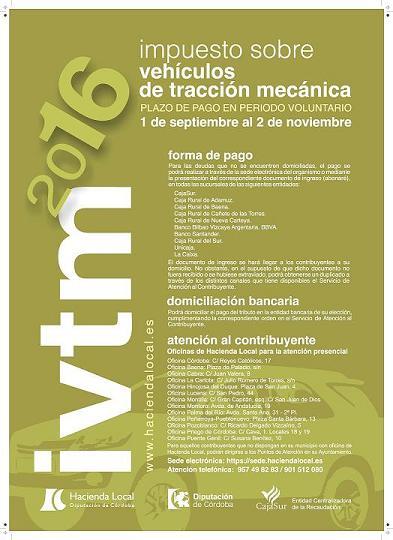 IMPUESTO SOBRE VEHÍCULOS DE TRACCIÓN MECÁNICA. 1