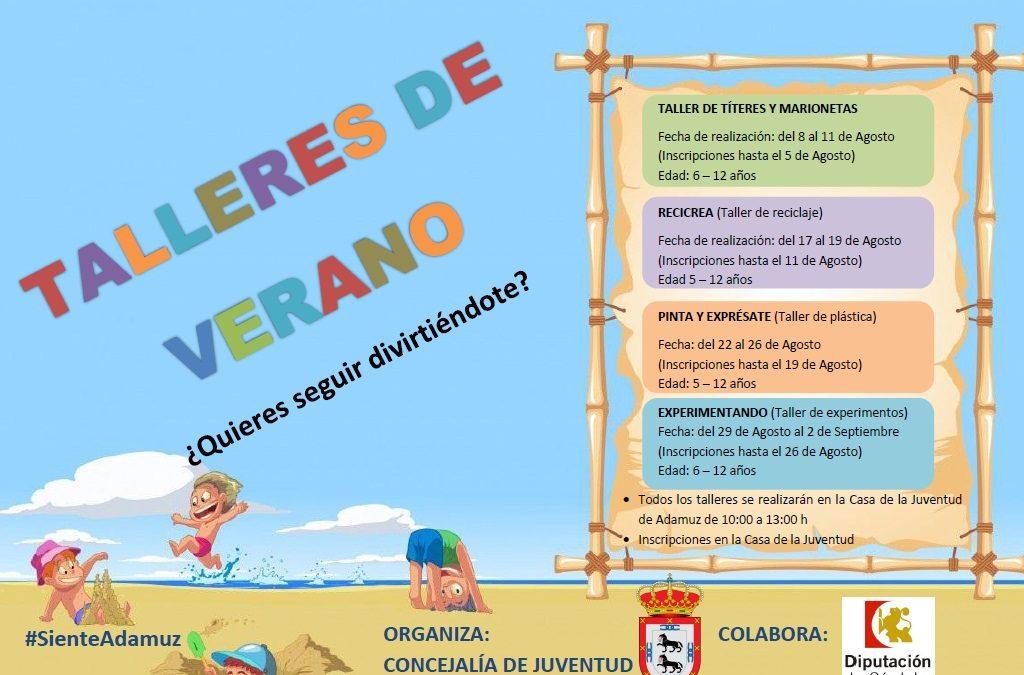 TALLERES DE VERANO 1