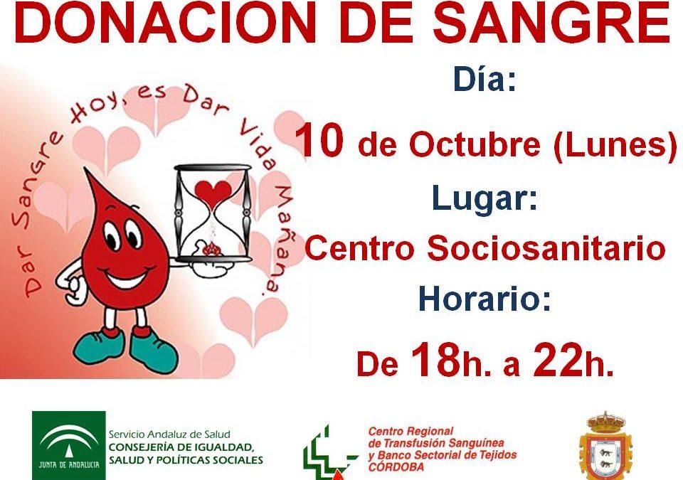 DONACION DE SANGRE EN ADAMUZ (10 OCTUBRE 2016)
