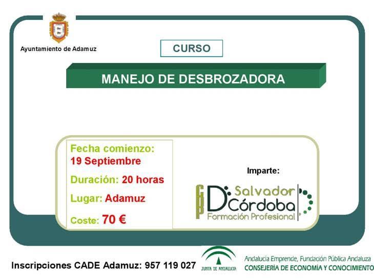 CURSO DE DESBROZADORA 1