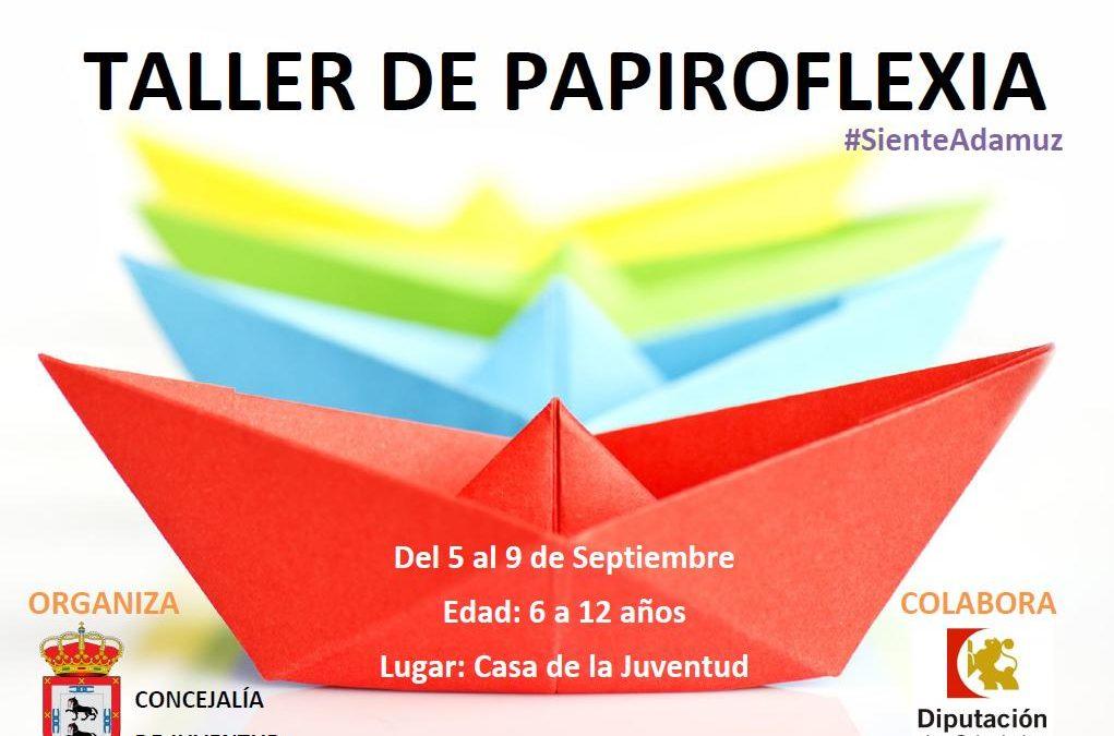 TALLER DE PAPIROFLEXIA 1