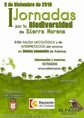 I JORNADAS POR LA BIODIVERSIDAD DE SIERRA MORENA.  1