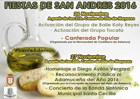 FIESTA EN HONOR A SAN ANDRÉS, PATRÓN DE ADAMUZ. 1