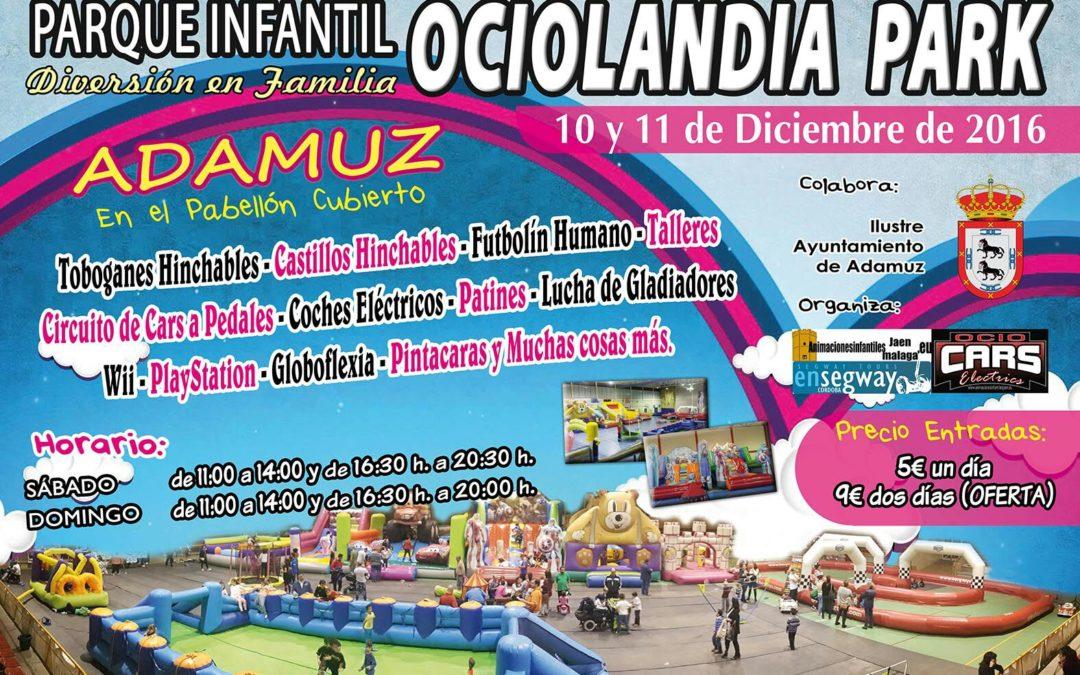 PARQUE INFANTIL OCIOLANDIA PARK.#SienteAdamuz 1