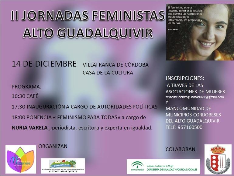 II JORNADAS FEMINISTAS DEL ALTO GUADALQUIVIR 1