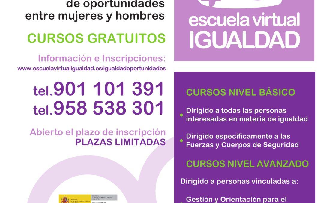 CURSOS GRATUITOS EN IGUALDAD 1