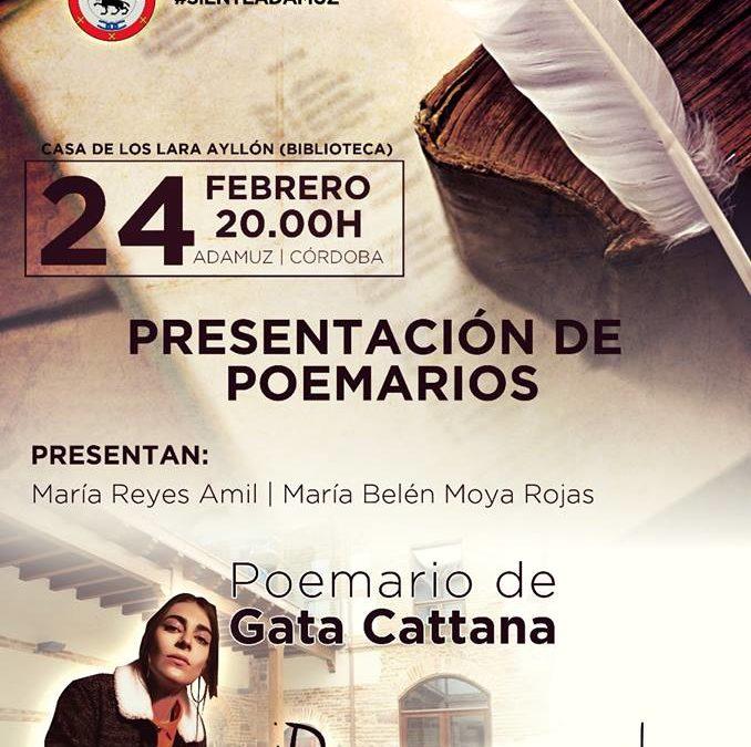 PRESENTACIÓN DE POEMARIO DE GATA CATTANA 1