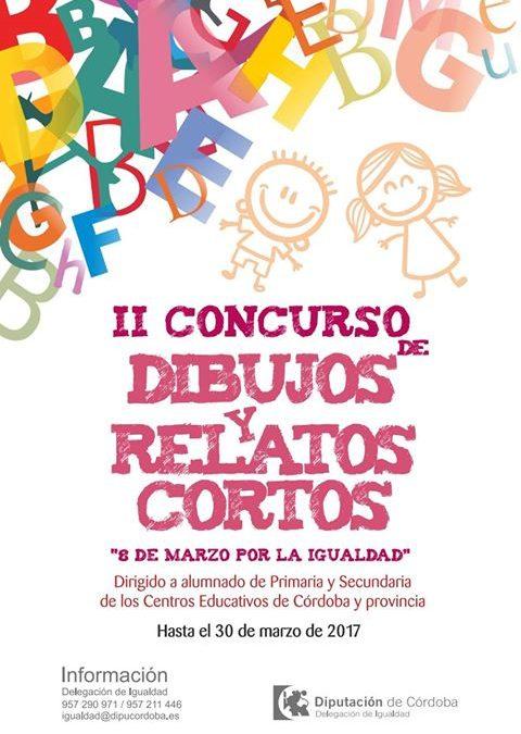"""II CONCURSO DE DIBUJOS Y RELATOS CORTOS """"8 DE MARZO POR LA IGUALDAD"""" 1"""
