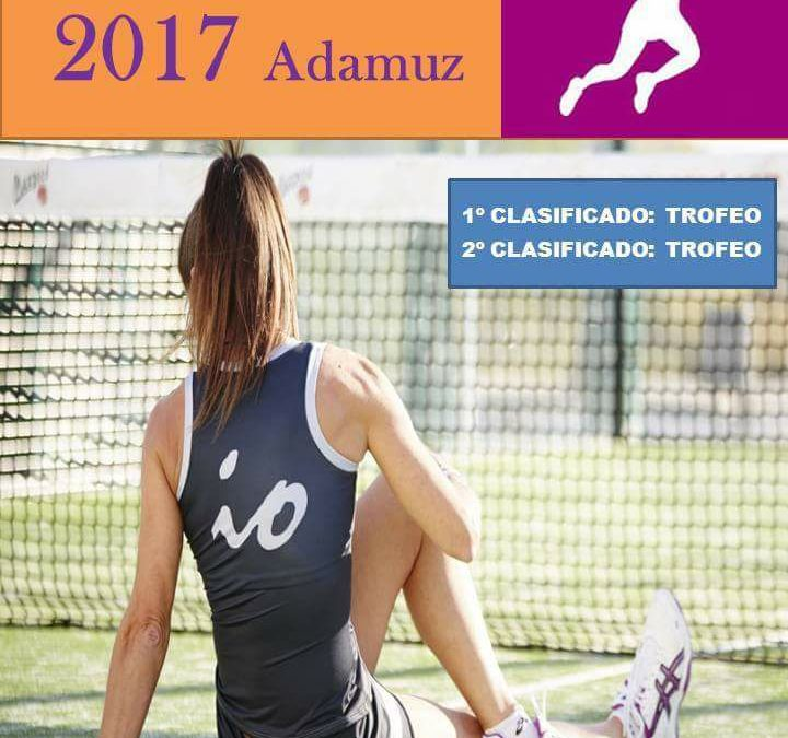 Liga local de padel femenino.  1
