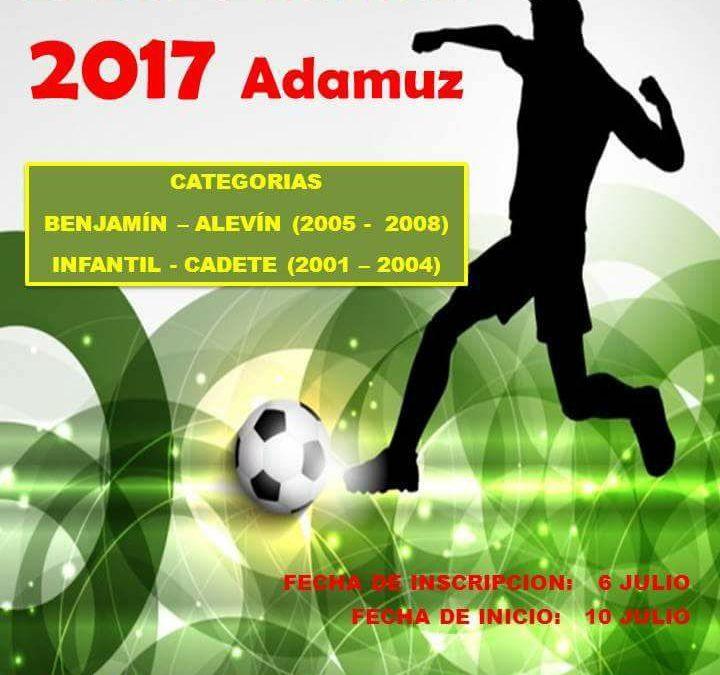Liga local de fútbol 7 infantil. 1
