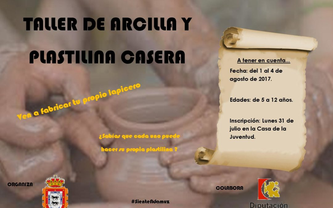 TALLER DE ARCILLA Y PLASTILINA CASERA  1