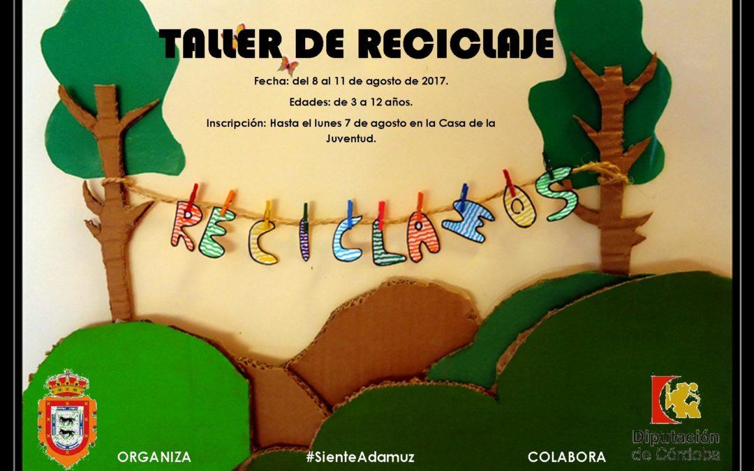 TALLER DE RECICLAJE  1