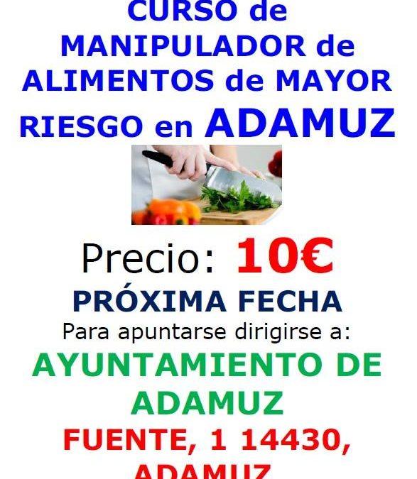 CURSO DE MANIPULADOR DE ALIMENTOS. 1