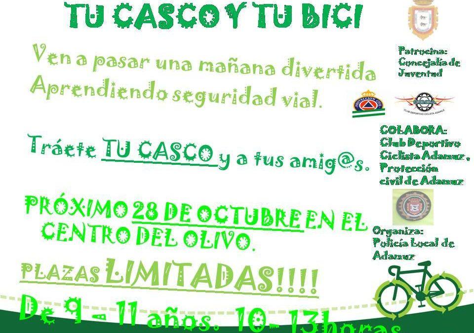 TU CASCO Y TU BICI. 1
