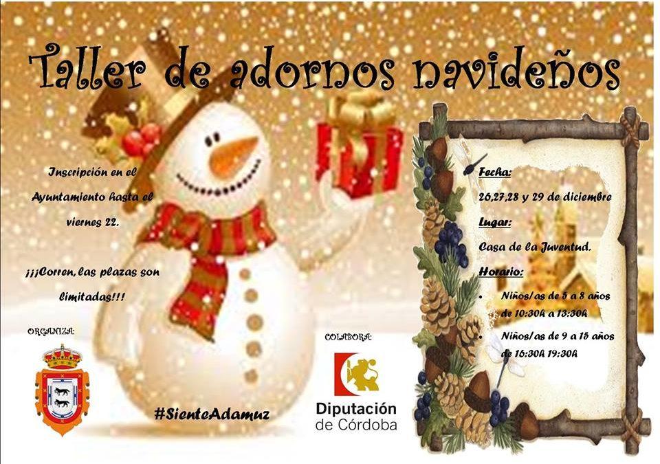 TALLER DE ADORNOS NAVIDEÑOS 1