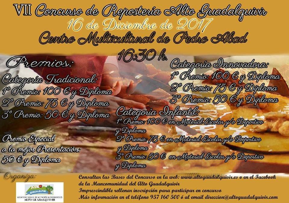 VII CONCURSO DE REPOSTERÍA ALTO GUADALQUIVIR.  1