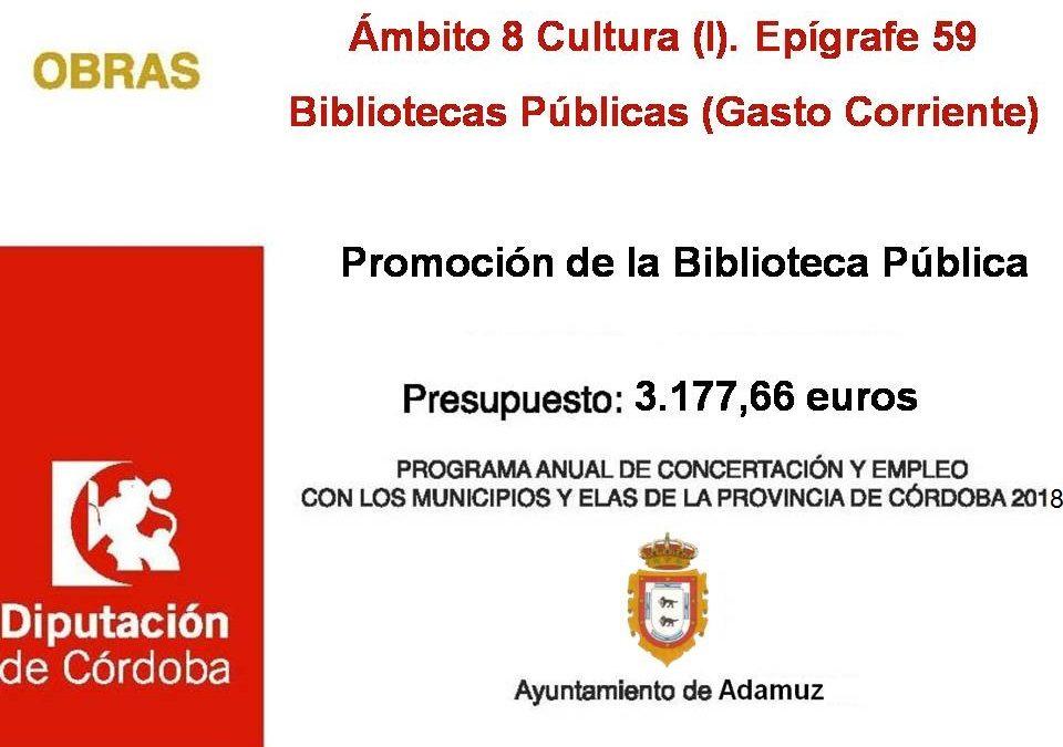Promoción de la Biblioteca Pública 2018 1