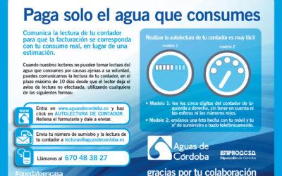 Autolectura Contador de Agua