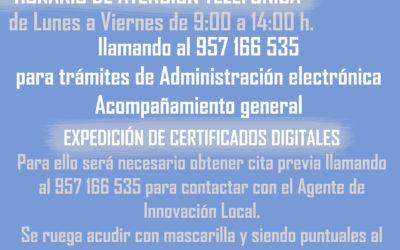 Atención al usuario Guadalinfo